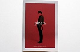 pineta 2012-13 AUTUMN WINTER パンフレット